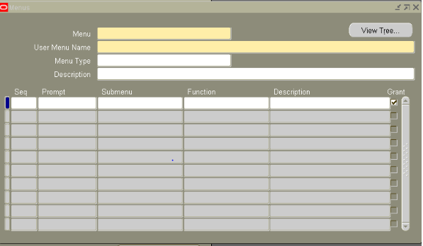 Application,Forms,functions,menu