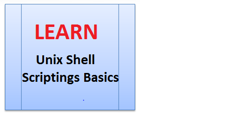 learn unix shell scripting