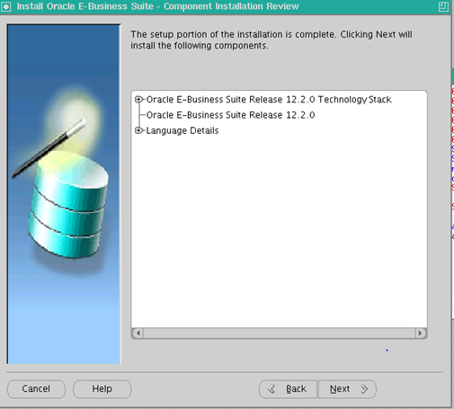 Installation of an EBS 12.2 Vision Instance
