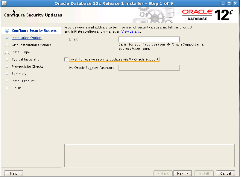 Step by Step Oracle 12c Database Installation on Linux_1