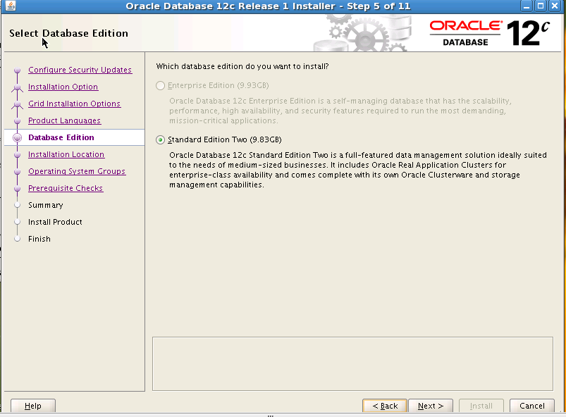 Step by Step Oracle 12c Database Installation on Linux_5