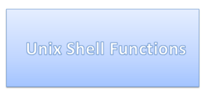 Functions in Shell Script