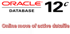 online move of active datafile
