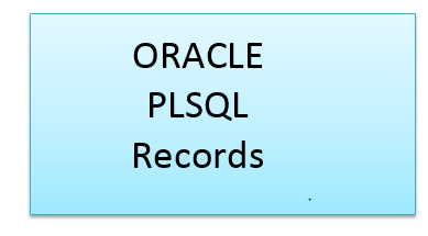 Oracle PLSQL records