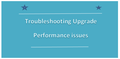 R12.2 upgrade performance issues