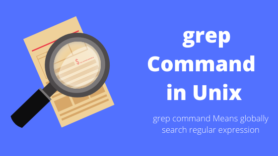 grep command in Unix
