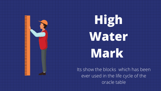 high water mark in oracle table
