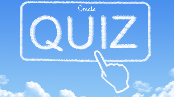 Oracle Database Quiz