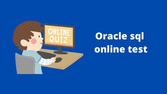 Oracle sql online test